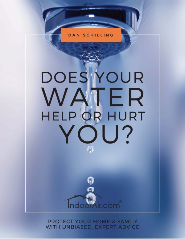 Book cover for Does Your Water Help or Hurt You?