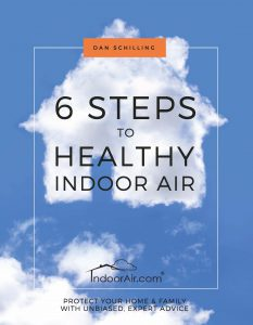 Steps for Healthy Indoor Air book cover
