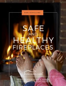 Safe and Healthy Fireplaces book