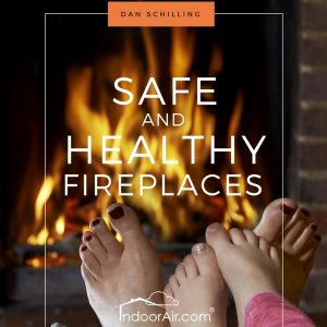 Photo of book cover for Safe and Healthy Fireplaces