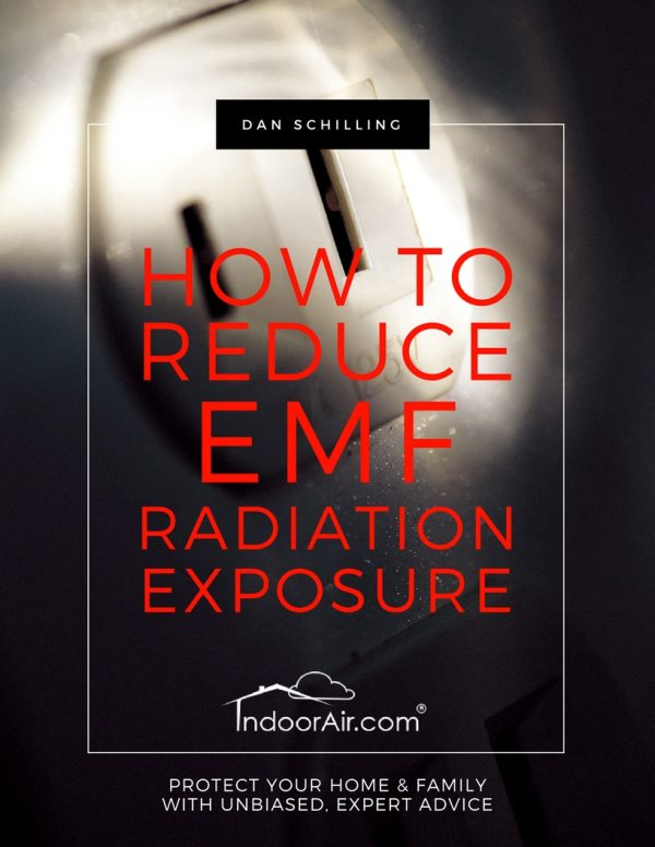 Book cover for How to Reduce EMF Radiation Exposure