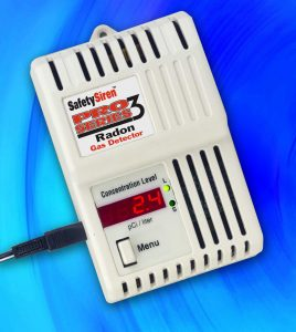 Radon Test Monitor